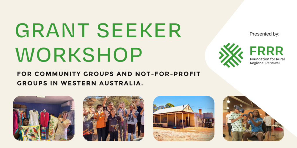WA grantseeker workshop