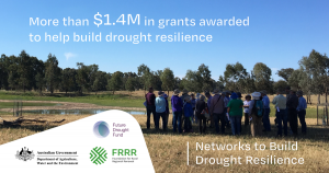 Rural communities share in more than $1.4M to build drought resilience