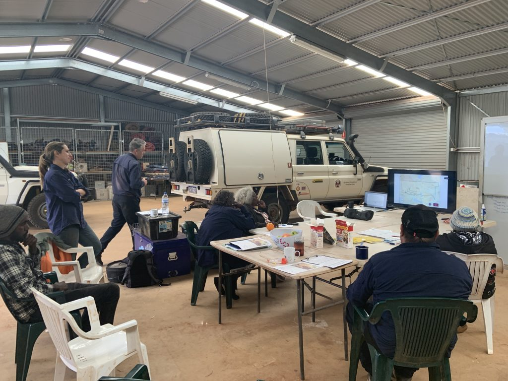 Supporting Indigenous Rangers through regional knowledge and skill sharing