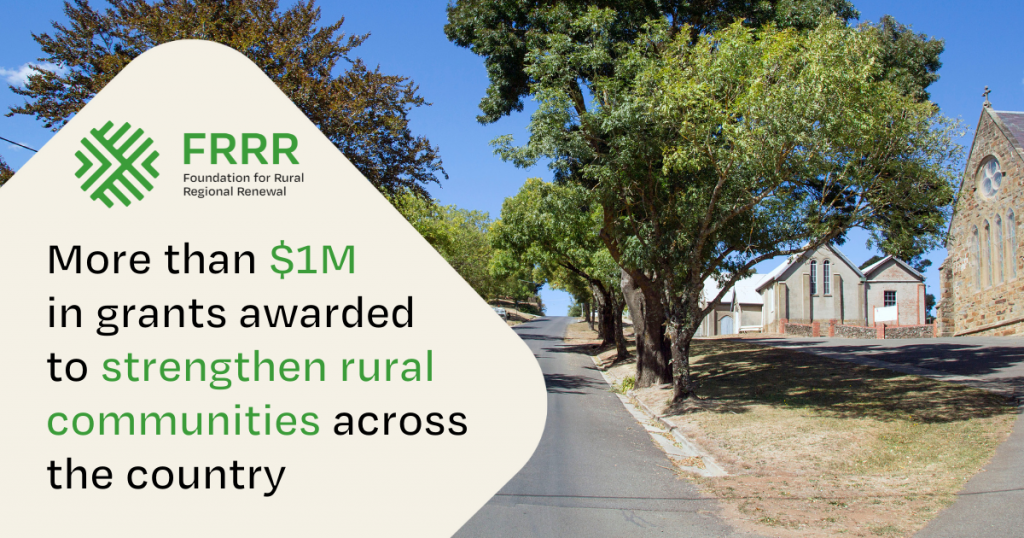 More than $1M hits the ground in rural communities across the country